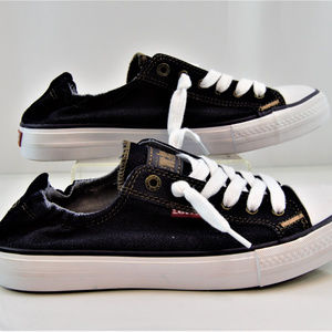 Levi's Women's Stan G  Denim Canvas Sneakers